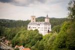 Fotky z Českých hradů Rožmberk nad Vltavou - fotografie 1