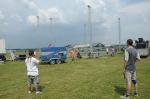 Fotky z příprav festivalu Creamfields - fotografie 1