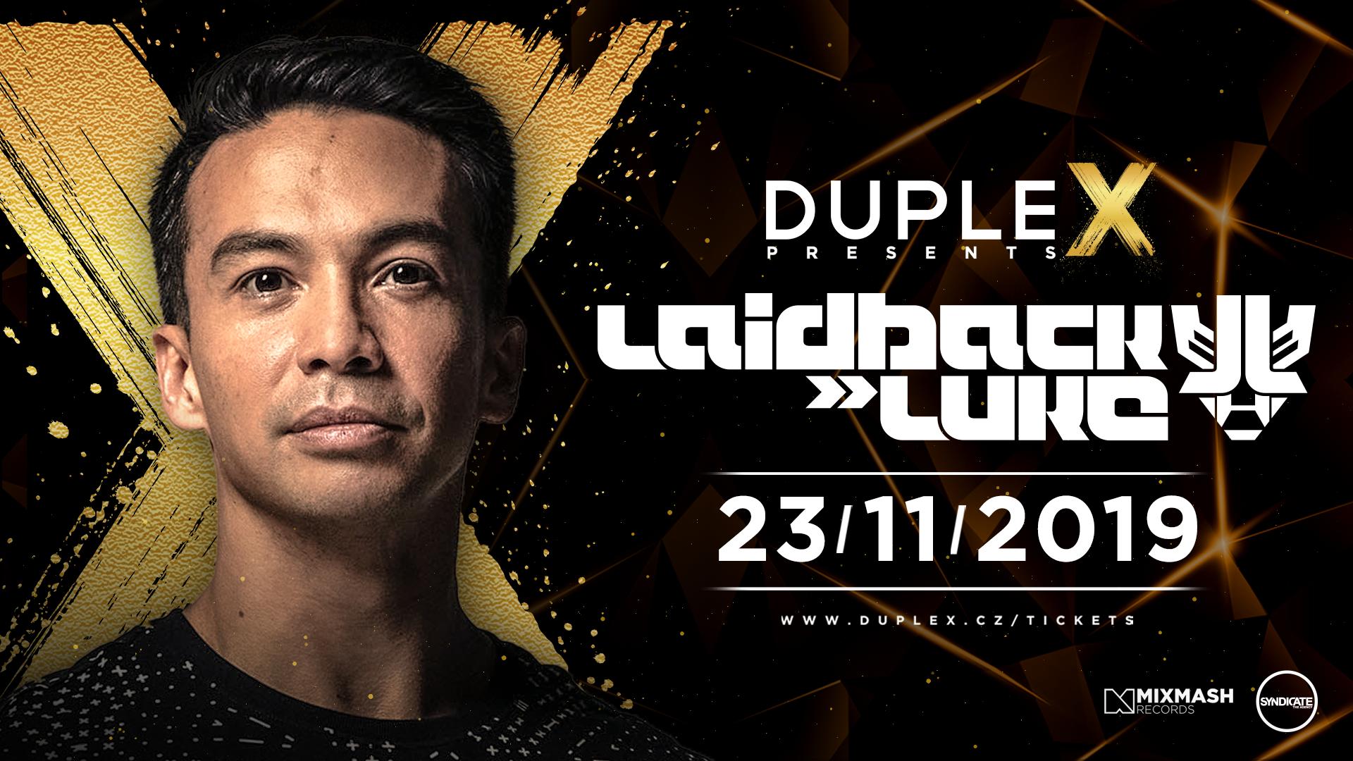 Laidback Luke na listopadové Duplex Presents