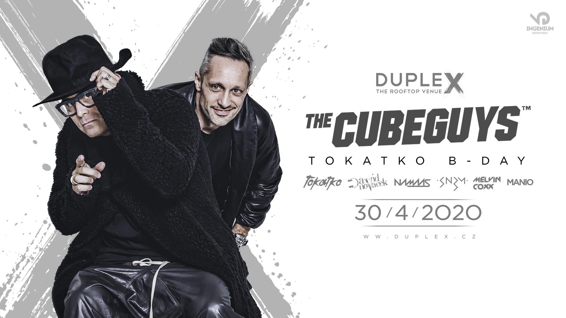 The Cube Guys zahrají 30. dubna v Duplexu